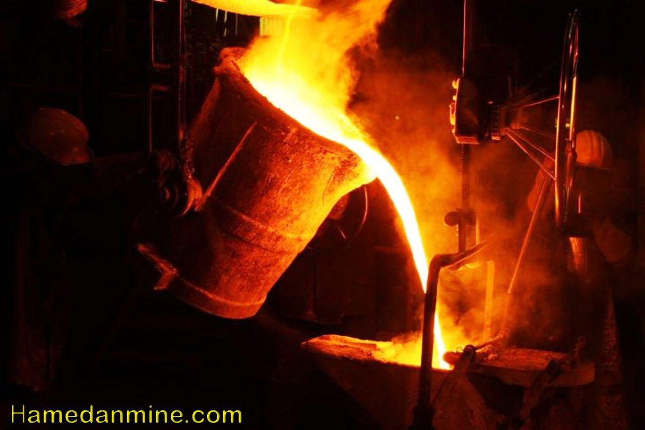 خاک نسوز فولاد و چدن