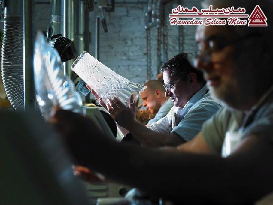 مراحل تولید شیشه و بلور