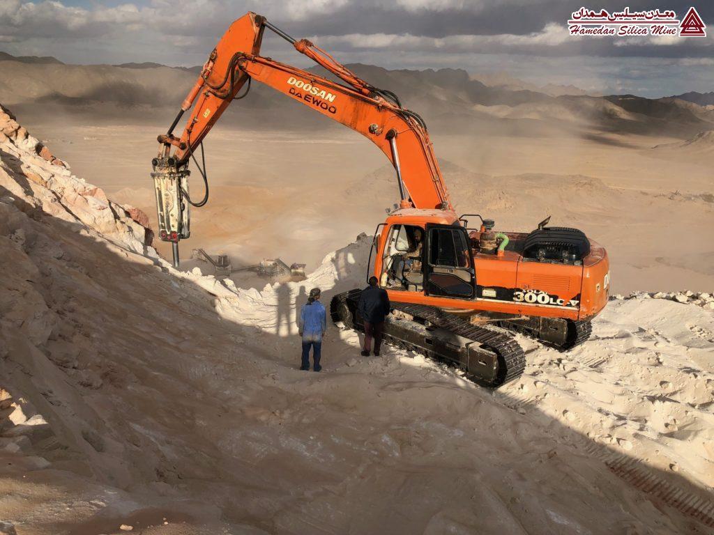 استخراج معدن سیلیس